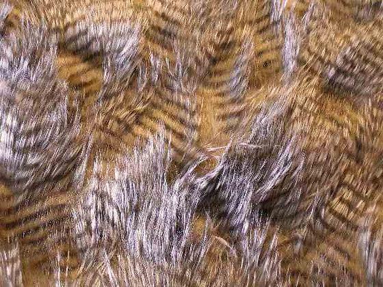Long Brown Owl Fur