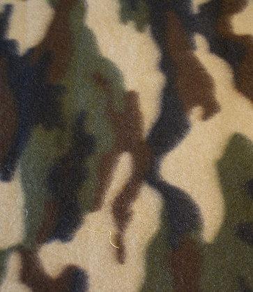 Camouflage Fleece {Inner-Fabric}