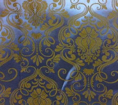 Royal Blue Brocade {Inner-Fabric}