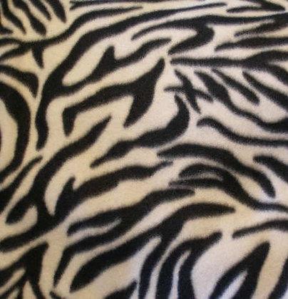 Zebra Fleece {Inner-Fabric}