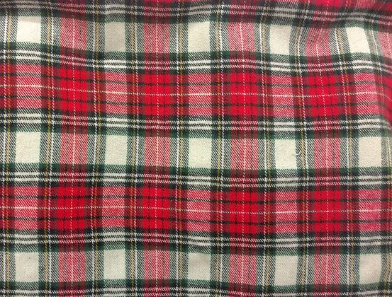 Red Classic Flannel {Inner-Fabric}