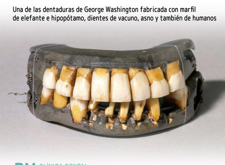 Las dentaduras postizas de George Washington