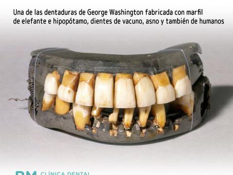 Las dentaduras postizas de George Washington