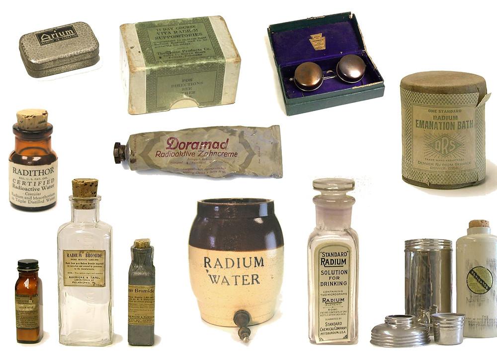Productos radioactivos