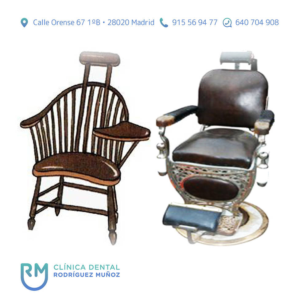 historia del sillón dental