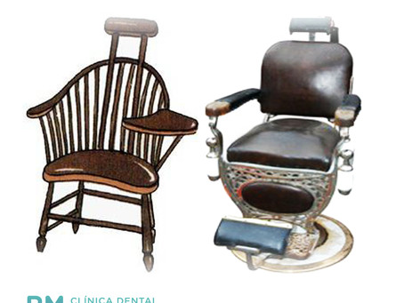 La historia del sillón dental