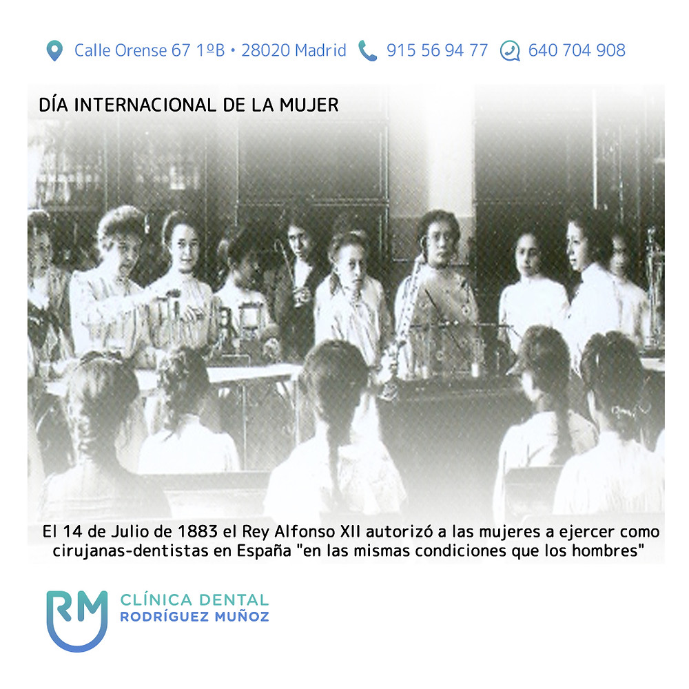 Mujeres odontólogas