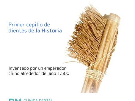 El primer del cepillo dental