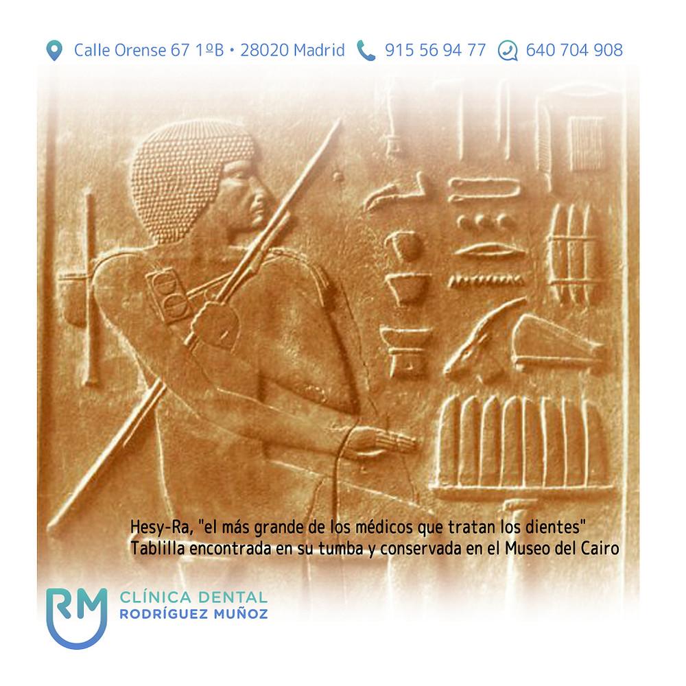 Primero odontólogo egipcio