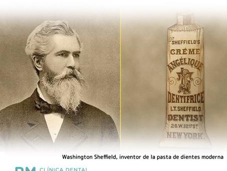 Los orígenes de la pasta dental