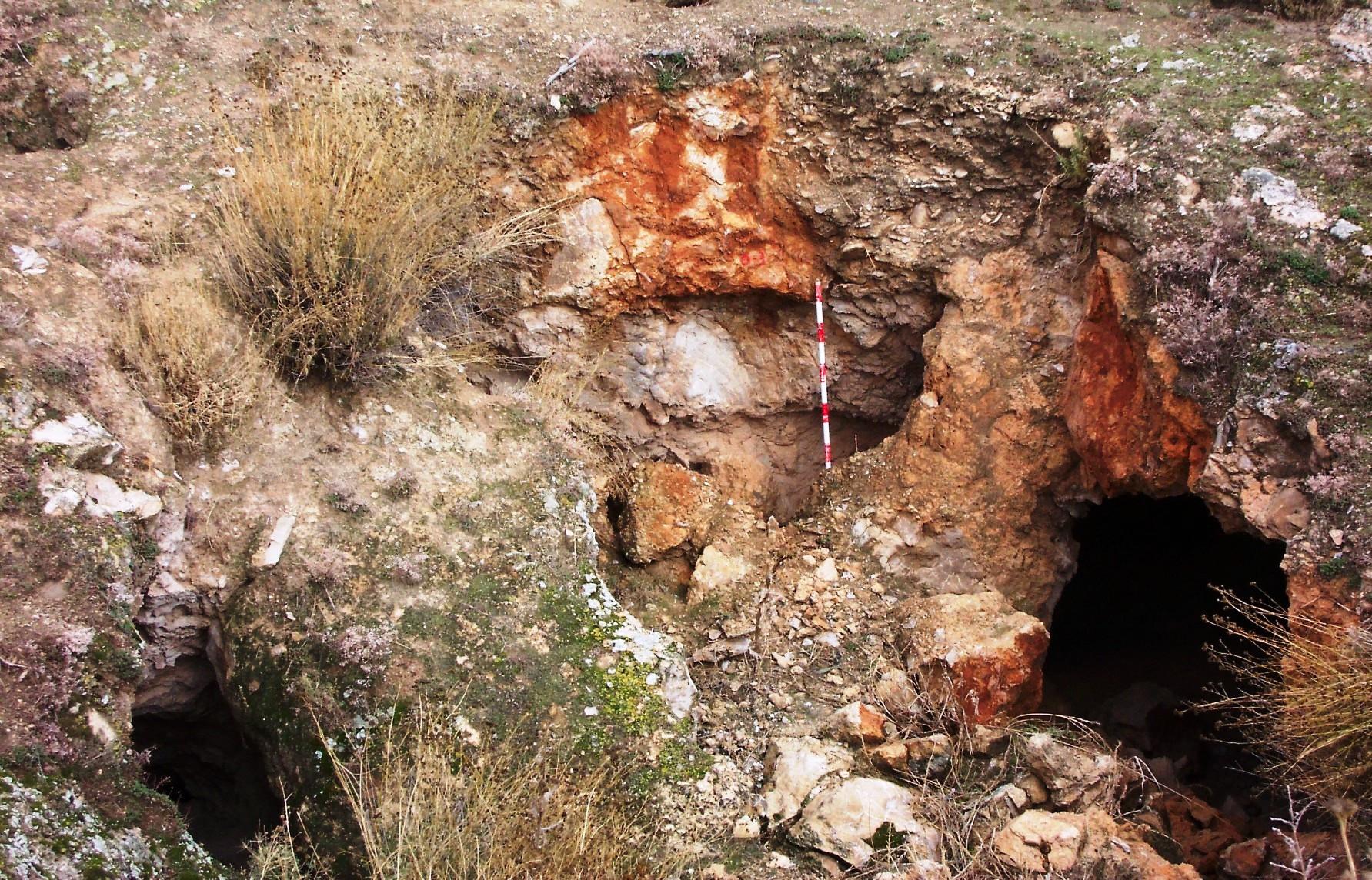 Hundimientos del terreno que dejan al descubierto nuevas zonas mineras