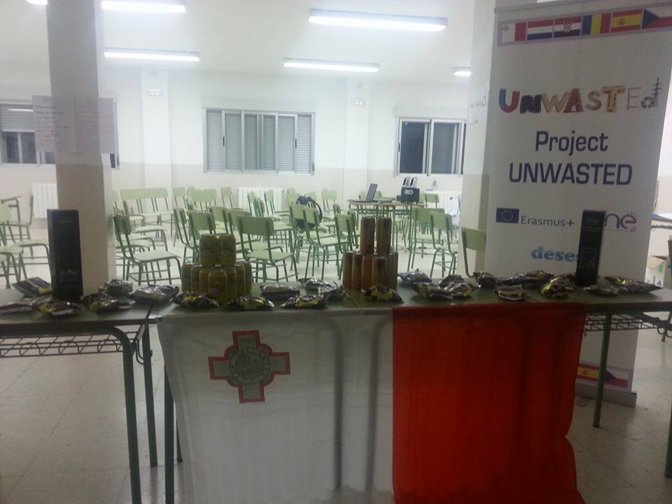 INTERCAMBIO UNWASTED 2014