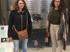"Damiana y Anais empiezan su proyecto EVS ""Pool of opportunities"""