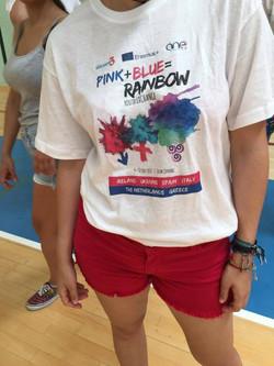 Intercambio PINK+BLUE = RAINBOW 2017
