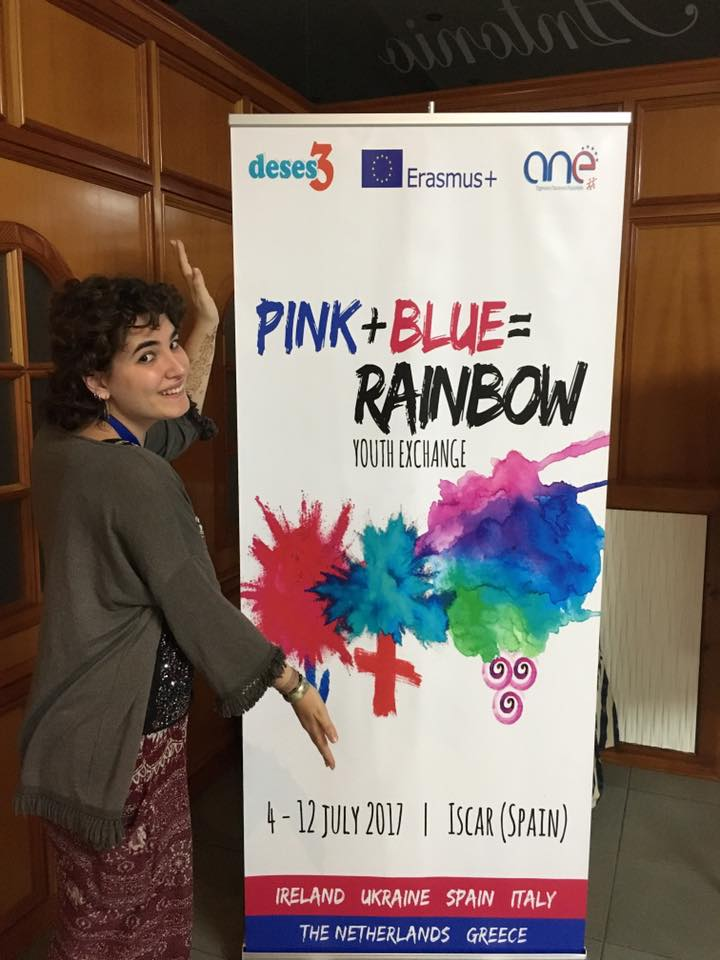 Intercambio PINK+BLUE = RAINBOW 2017