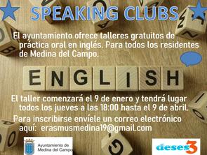 "De la idea de Rafaela, nace un taller de inglés - ""Speaking clubs"""
