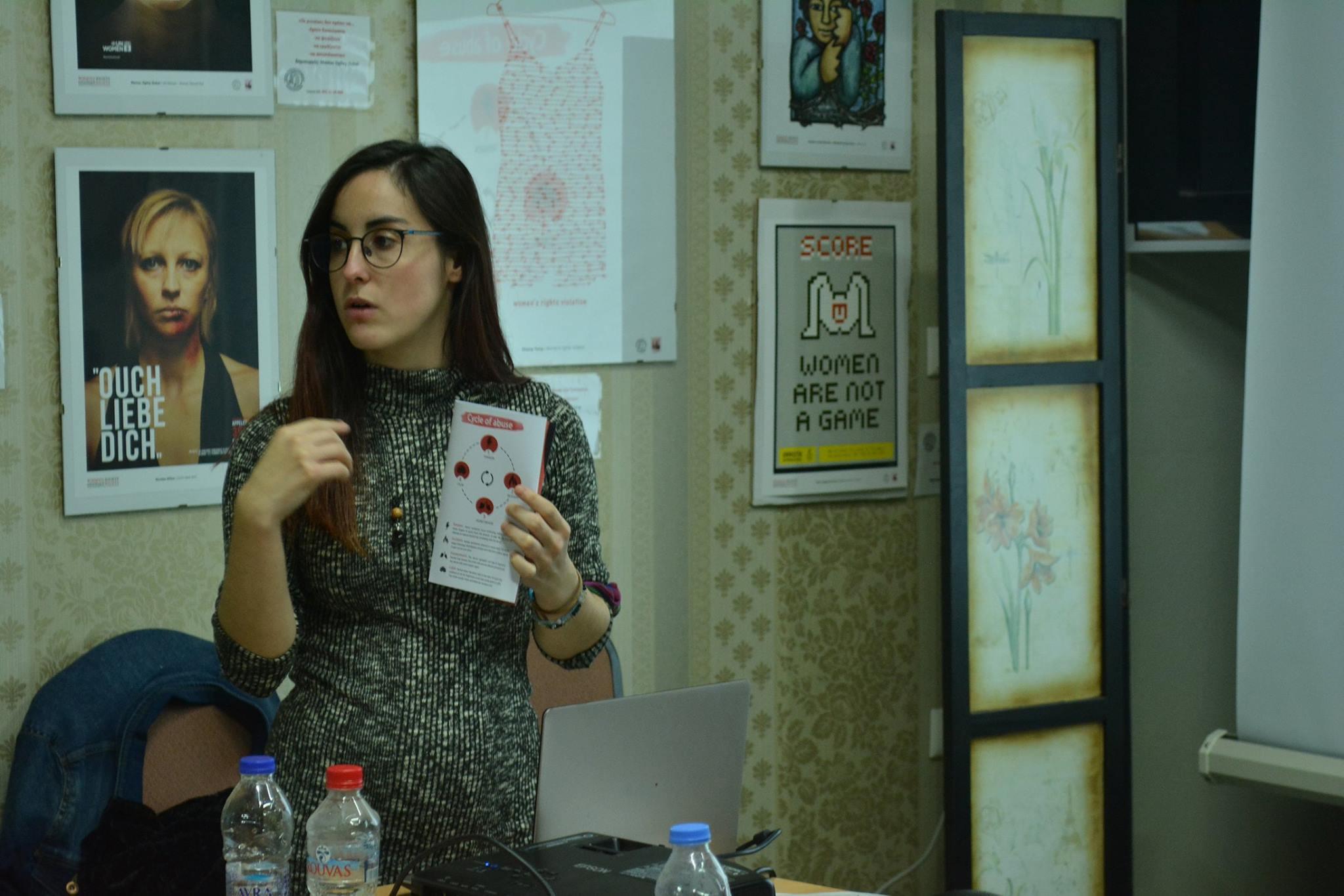 Rebeca y su EVS en Grecia