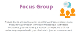Aim of the focus group