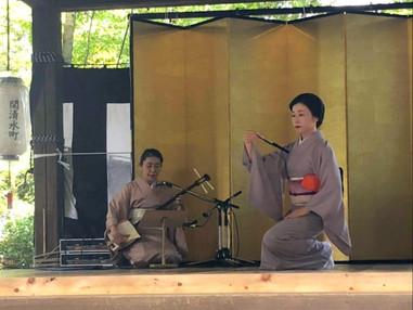関蟬丸神社芸能祭