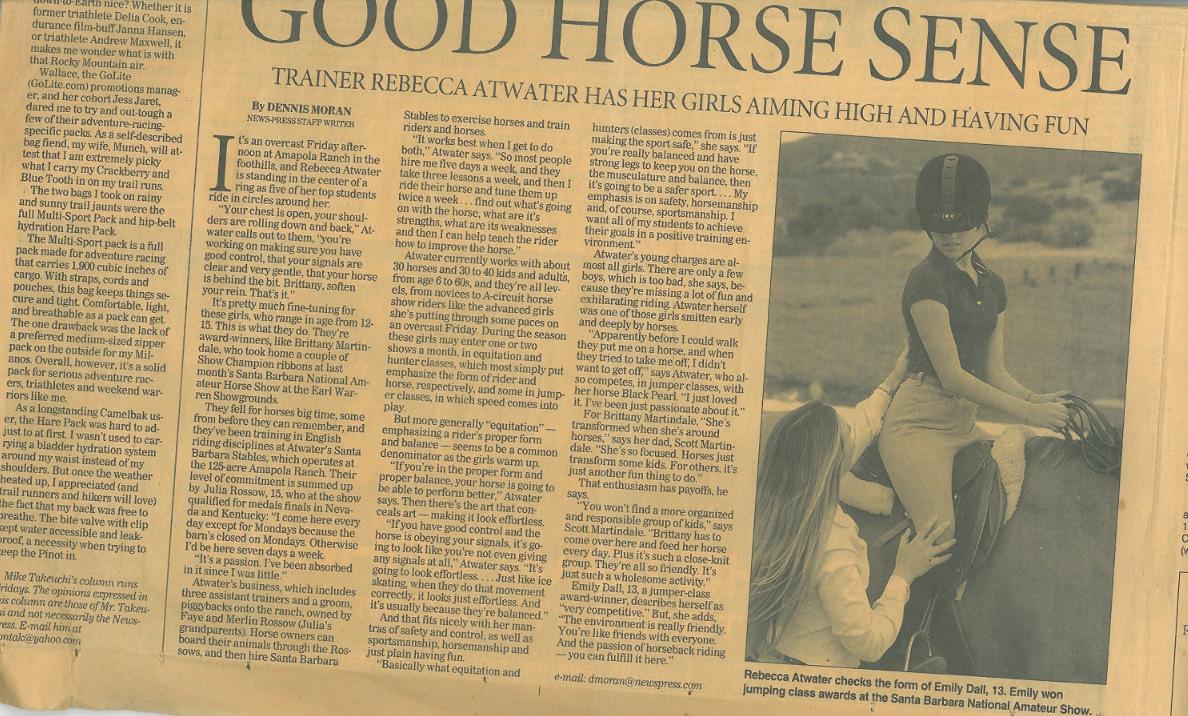Good Horse Sense