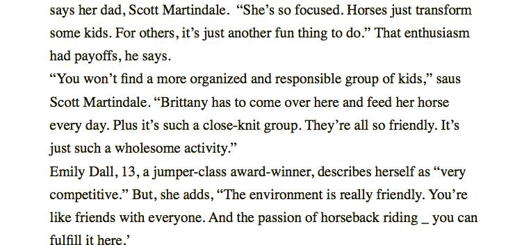 Good Horse Sense Page 3