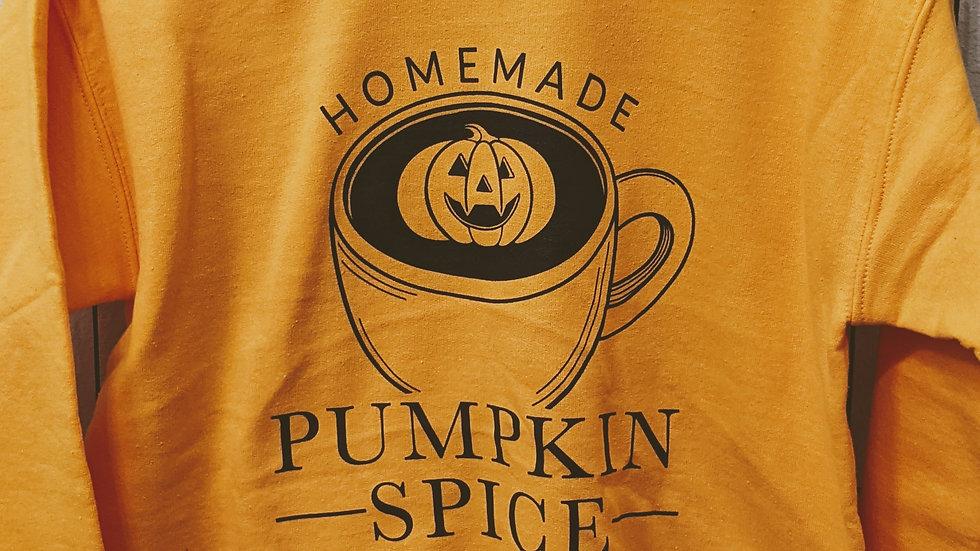 Pumpkin Spice Crewneck Sweatshirt