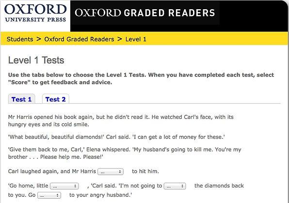 Oxford Bookworm level test