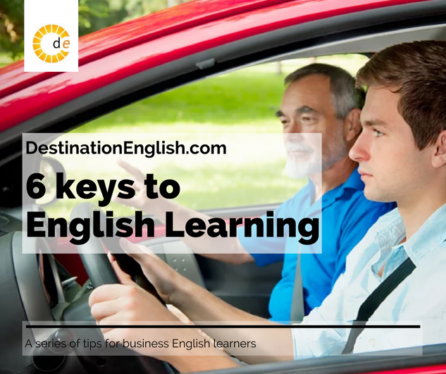 6 keys to English learning
