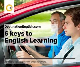 6 keys to English learning