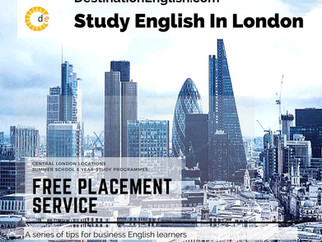 Study English in Central London | Free Placement Service