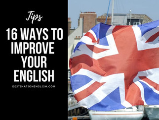 16 ways to Improve your English