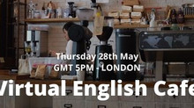 Watch our Virtual English Cafe Highlights - Special Guest (Barcelona Art Director)