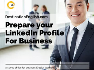 Developing Your LinkedIn Profile
