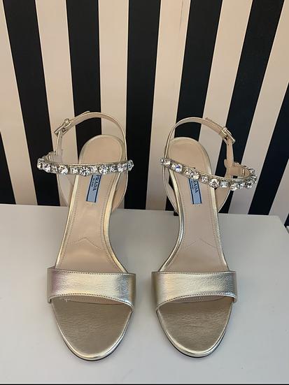 Prada sandali gioiello