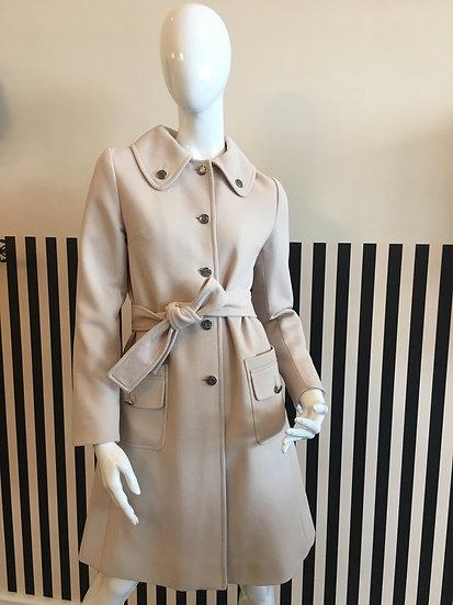 Dolce &Gabbana cappotto usato color ghiaccio