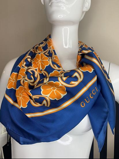 Gucci foulard seta