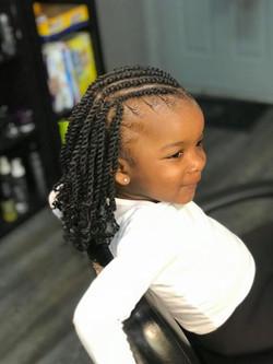 Children Extended Braids
