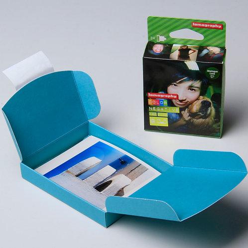 pack lomo negative 800 /120 + développement  + tirages + scan