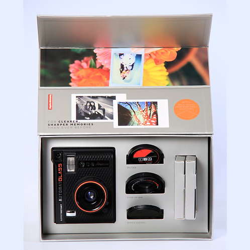 LOMO INSTANT AUTOMAT GLASS AND LENSES MAGELLAN