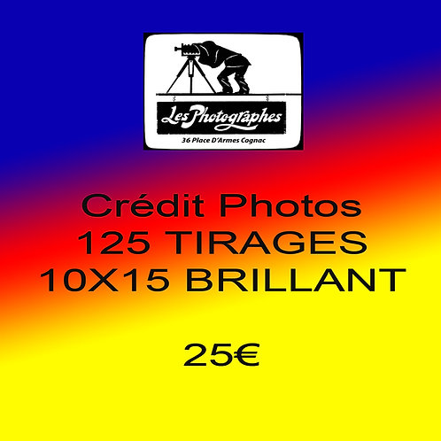 Credit Photo 10x15 25€