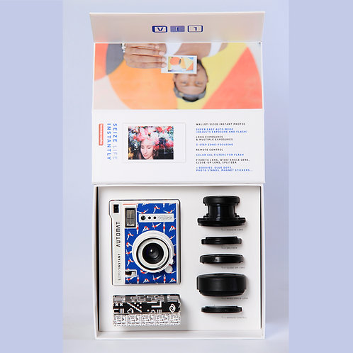 LOMO INSTANT AUTOMAT AND LENSES RIVIERA