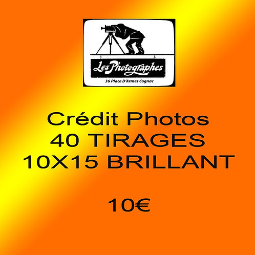 Credit Photo 10x15 10€