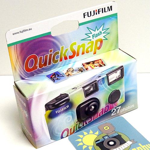 Fuji Appareil photo jetable flash 400asa 27p