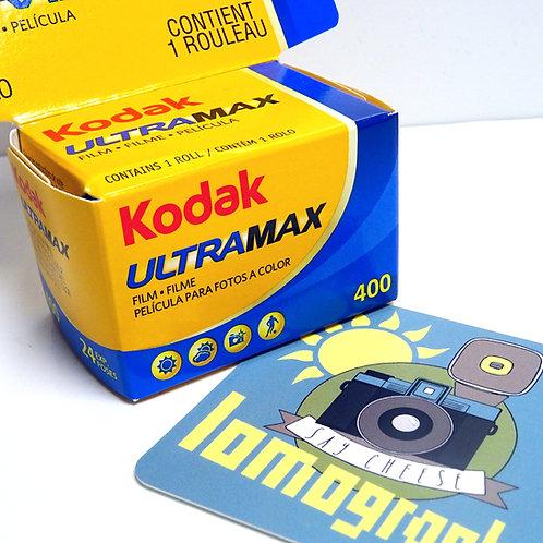 Kodak ultramax 400 24 poses