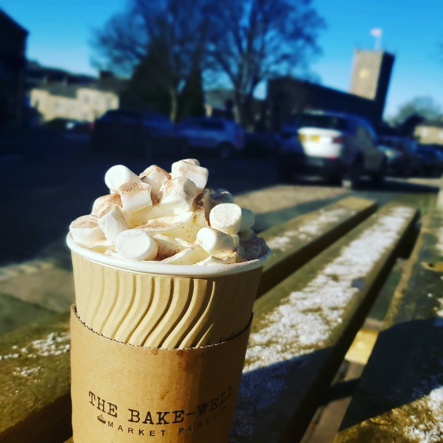 Hot Chocolate with a view
