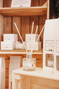 Locally made candles & diffusers