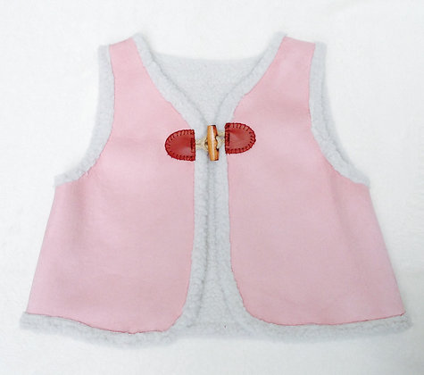 Gilet de Berger - Piano Rose