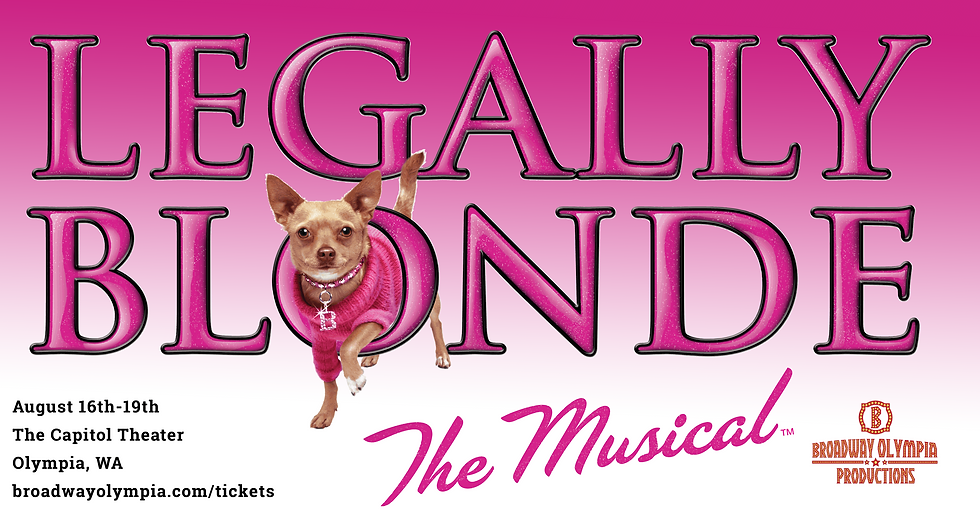 Legally Blonde 2019 Olympia Tickets