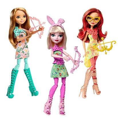 Ever After High Archery Club Dolls