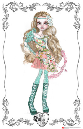 Ever After High Ashlynn Archery  Club Doll